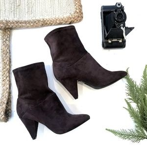 Urban outfitters Brown Scrunch Ankle Boots